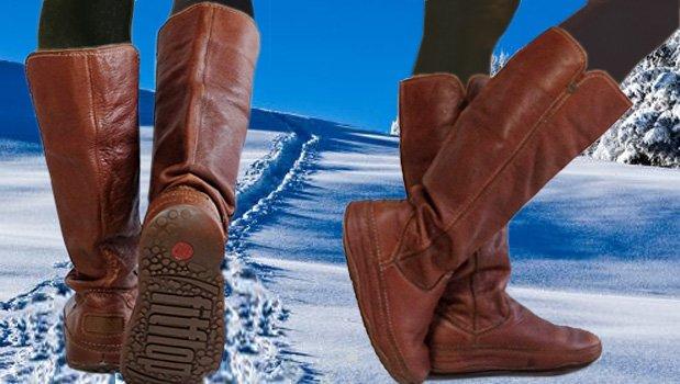 Braune FitFlop Stiefel für Damen, braun.