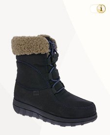 FitFlop Boots, Stiefel, blau.