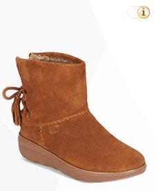 FitFlop Boots, Stiefel, Mukluk Shorty, Braun.