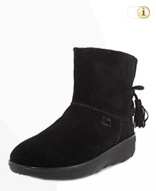 FitFlop Boots, Stiefel, Mukluk Shorty, schwarz.