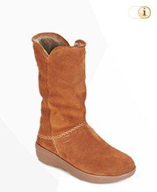 FitFlop Boots, Stiefel, Supercush Mukluk, braun.