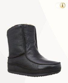 FitFlop Boots, Stiefel, Mukluk, Mokassin, schwarz.