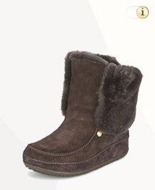 FitFlop Boots, Stiefel, Supercuff Mukluk , braun.