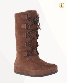 FitFlop Boots, Stiefel, Tall Mukluk, braun.