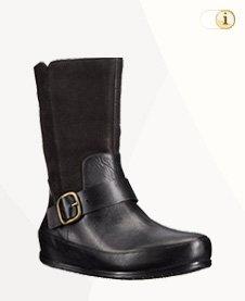 FitFlop Boots, Dueboot Biker, schwarz