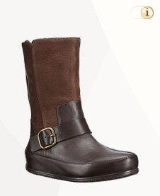 FitFlop Boots, Stiefel, Dueboot Biker, braun.