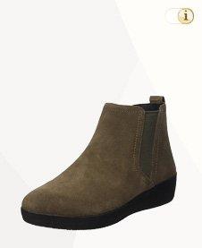FitFlop Boots, Stiefel, Superchelsea, grünbraun.