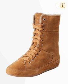 FitFlop Boots, Stiefel Polar, braun.