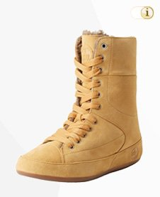 FitFlop Boots, Stiefel Polar, gold.