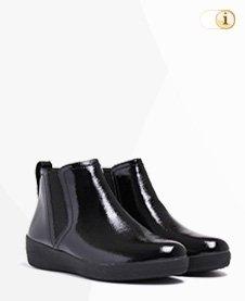 FitFlop Boots, Stiefel, Superchelsea, schwarz.