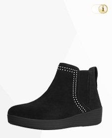FitFlop Boots, Stiefel, Superchelsea, dunkelbraun.