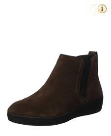 FitFlop Boots, Stiefel, Superchelsea, braun.