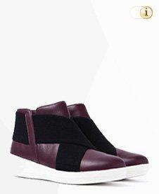 FitFlop Boots, Stiefelette, Superflex, purpur.