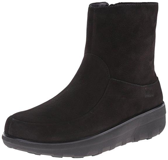 FitFlop Boots, Stiefel, Loaff, schwarz.