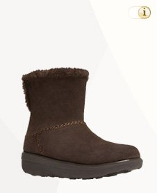 FitFlop Boots, Stiefel, Mukluk Shorty, schoko.