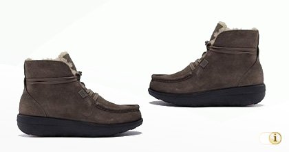 Fitflop Stiefelette Loaff TM Lace Up - Cord Suede