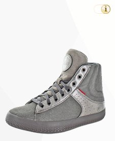 Fitflop Stiefel / sportlich, grau, Leder.