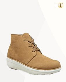 FitFlop Boots, Stiefel, Loaff Ankle Boot, hellbraun.