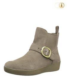 FitFlop Boots, Stiefelette, Superchelsea, dunkelbraun.