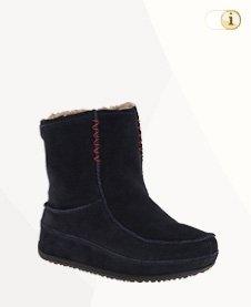FitFlop Boots, Stiefel, Mukluk MOC 2, Mokassin, schwarz.