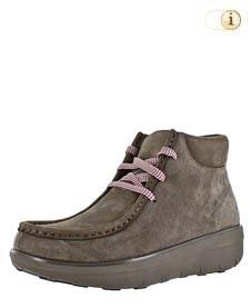 FitFlop Boots, Stiefel, Chukkamoc  Bungee, grünbraun.