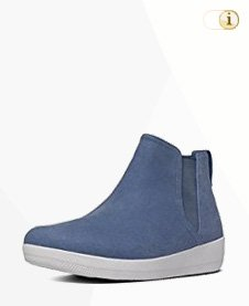 FitFlop Boots, Stiefel, Superchelsea High-Top, blau.