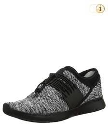 Fitflop Schuhe Damen, Artknit Angeline Lace Up Sneaker, grau.