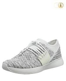 Fitflop Artknit Angeline Lace Up Sneaker, weiß.