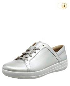 FitFlop™ Iridescent Sneaker in mettallic-silber.
