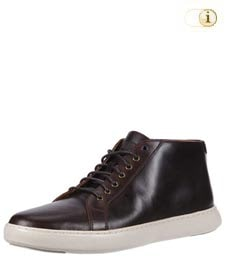 Fitflop Herren Schuh Andor, hohe Schnürschuhe, rot-braun.