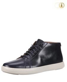 Fitflop Herren Schuh Andor, hohe Schnürschuhe, schwarz.