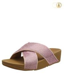 Fitflop Damen Ritzy Slide Sandale, rosa.