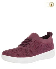 Rote Fitlop Damen Sporty Sneakers, rot.